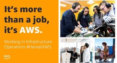 Working in an AWS Data Center