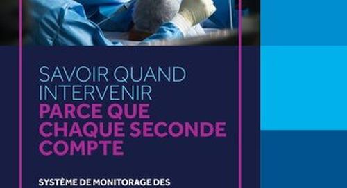 FAIRE LE BON CHOIX EN MATIÈRE DE MONITORAGE PAR OXYMÉTRIE RÉGIONALE