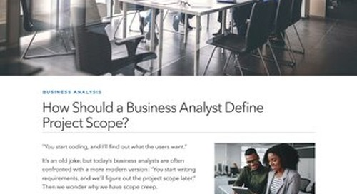 How Should a Business Analyst Define Project Scope?