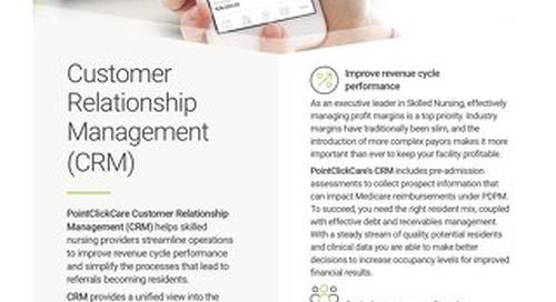 Customer Relationship Management (CRM): Solution Spotlight