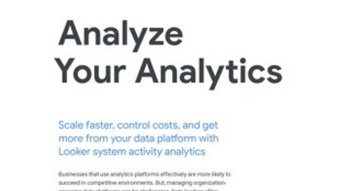 System Activity Analytics - Product Brief
