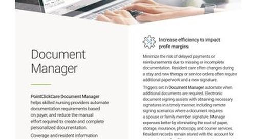 Document Manager: Solution Spotlight
