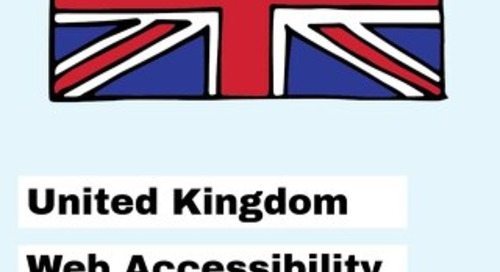 UK Web Accessibility and Subtitle Regulations