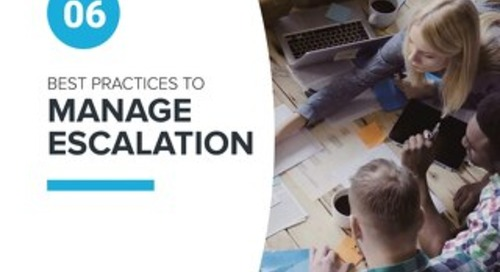 6 Best Practices to Manage Escalation