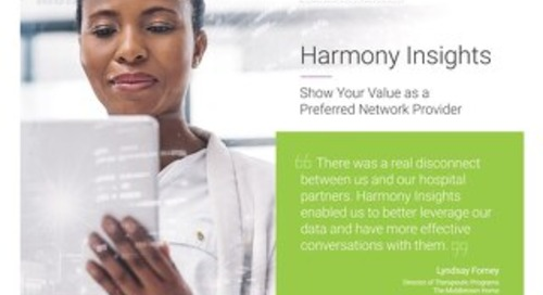 Harmony Insights Testimonial