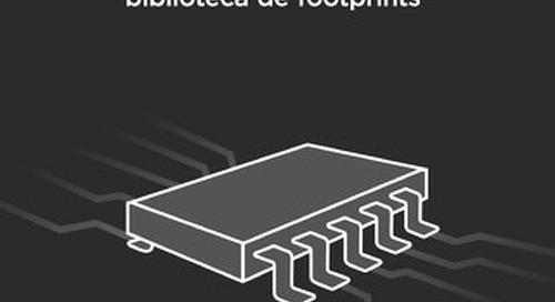 Creación de cuerpos de componentes 3D en una biblioteca de footprints