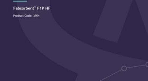 Fabsorbent™ F1P HF Technical User Guide