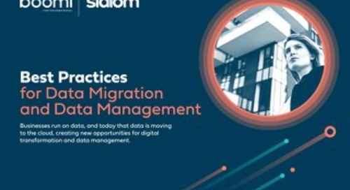 Best Practices for Data Migration and Data Management