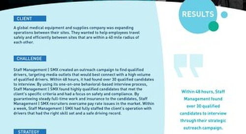 [Recruitment] Efficient Hiring Process Finds Ideal Drivers in 7 Days Case Study