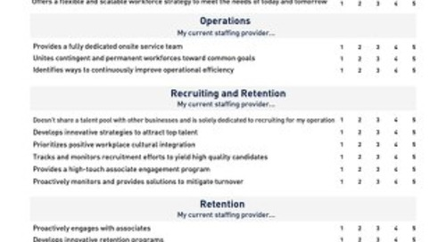 How Effective Is Your Staffing Partnership Guide