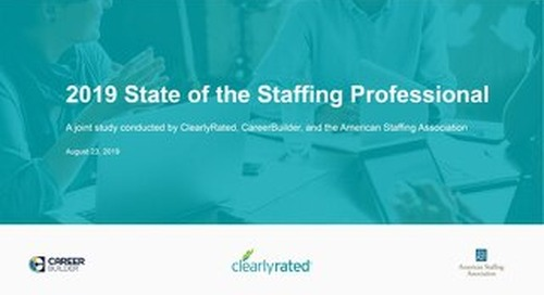 Top trends and issues for hiring managers and recruiters (study)