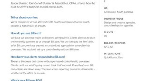 How one firm built their business model on Bill.com