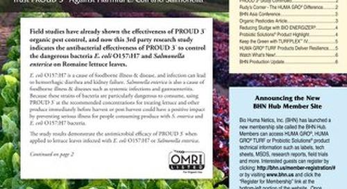 2013 Spring Newsletter