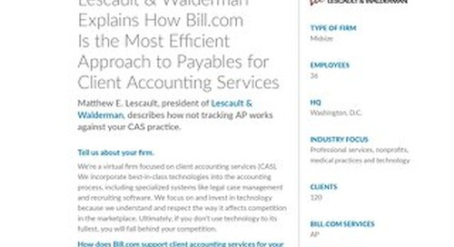 How using Bill.com helped build a more efficient CAS practice