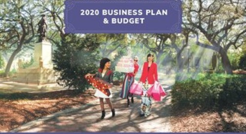 2020 Visit Savannah Business Plan