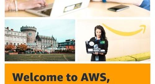 Welcome to AWS, Dublin