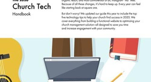 2020 Church Tech Checklist