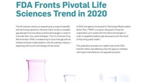 FDA Fronts Pivotal Life Sciences Trend in 2020