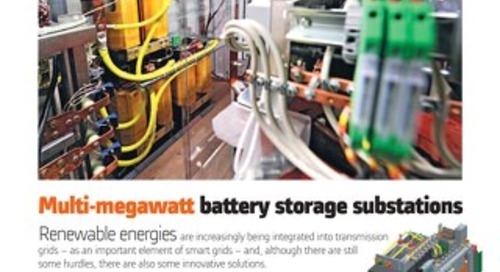 White Paper: Multi-megawatt battery storage substations