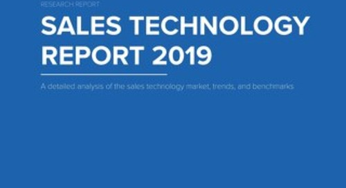 TOPO Sales Technology Report 2019