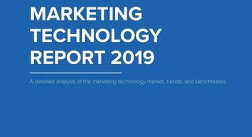 TOPO Marketing Technology Report 2019