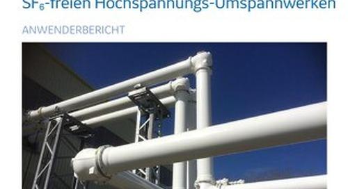 Case Study : National Grid Beginn der Reise hin zu SF₆-freien Hochspannungs-Umspannwerken (German)