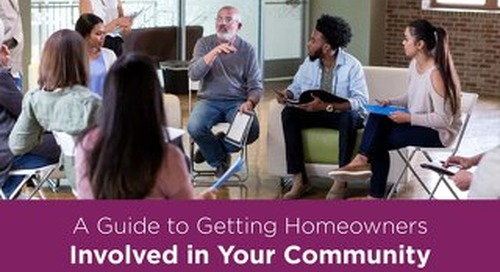 A Guide to Getting Homeowners Involved in Your Community