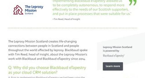 Leprosy Mission   eTapestry