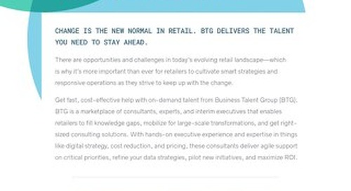 BTG Key Strengths: Retail