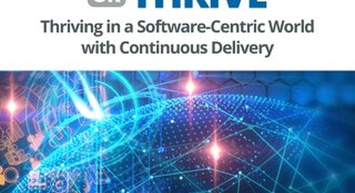 Survive or Thrive: Thriving in a Software-Centric World with CD
