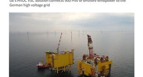 Case Study: DolWin3 HVDC Voltage Source Converters  for Efficient Connection of Renewable Energy