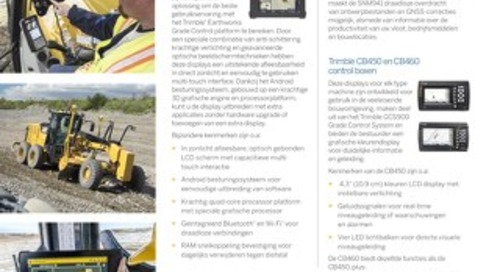 Trimble Grade Control Components Datasheet - Dutch