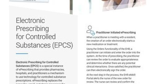 Electronic Prescribing for Controlled Substances (EPCS): Solution Spotlight