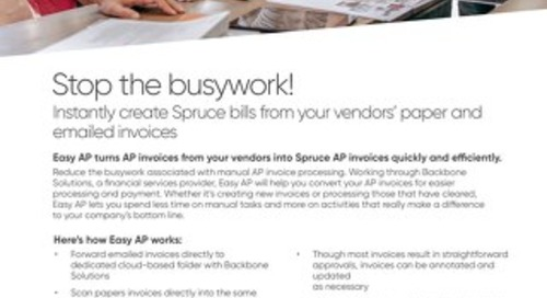 Spruce EasyAP Solution Brief