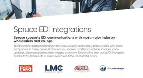 Spruce EDI Intergrations Solution Brief
