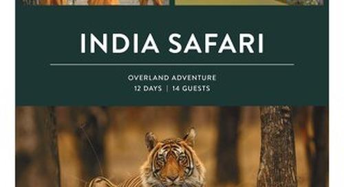 2021 India Safari