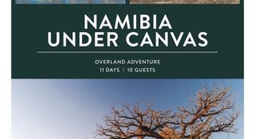 2021 Namibia Under Canvas