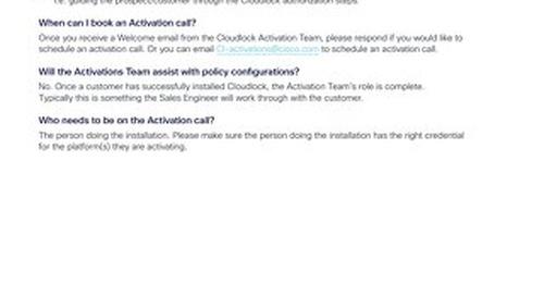 Cloudlock Customers' FAQ