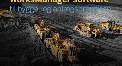 Trimble WorksManager Datasheet - Danish