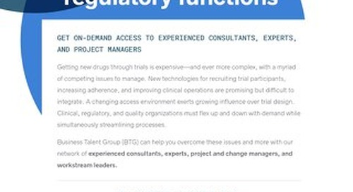 BTG Key Strengths: Clinical Solutions