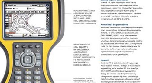 Trimble TSC3 Datasheet - Polish
