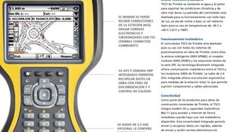 Trimble TSC3 Datasheet - Spanish