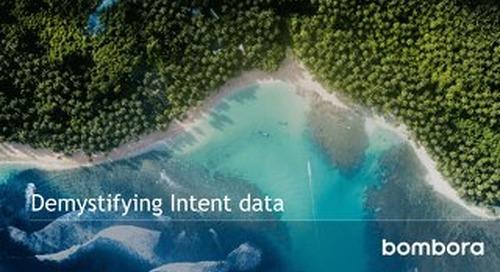 Demystifying Intent data - Bombora eBook