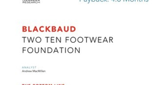 ROI Case Study: Two Ten Footwear Foundation