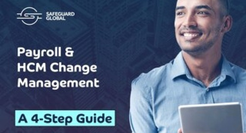 Payroll & HCM change management: A step-by-step guide