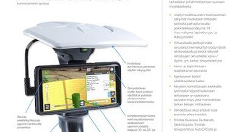 Trimble SiteVision Datasheet - Finnish