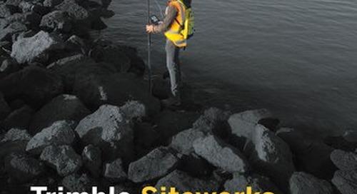 Trimble Siteworks for Marine Datasheet - English