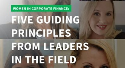 Women in Corporate Finance eBook