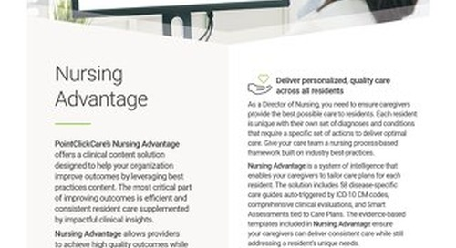 Solution Spotlight: Nursing Advantage