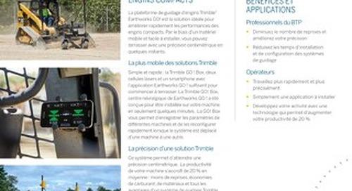 Trimble Earthworks GO! Datasheet - French